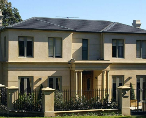 Nulok Global Pty Ltd - Ceramic Tile Roofing Two Story House