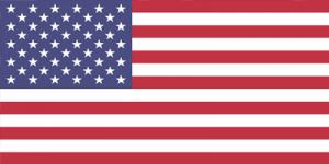 Flag of USA United States of America on Nulok Global Pty Ltd