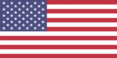 Flag of USA United States of America on Nulok Global Pty Ltd